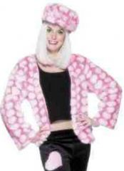 Pink Fur Hippy Chic Costume